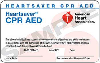 HeartSaver CPR & AED - Obsidian Training Solutions